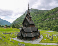 Borgund stave church Royalty Free Stock Photography