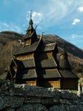 Borgund Stavkirke Arkivbild