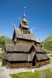 Borgund Stavkirke Royalty Free Stock Image
