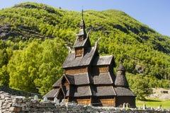 Borgund Stavkirke Stock Image