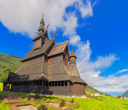 Borgund Stavkirke in Norway Stock Images