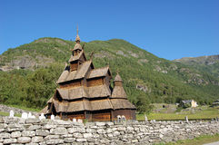 Borgund stavkyrkje Arkivbild