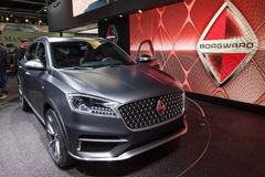 Borgward BX-7 at the IAA 2015 Stock Images