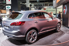 Borgward BX-7 at the IAA 2015 Royalty Free Stock Image
