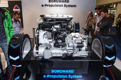 Borgward e-Propulsion System at the IAA 2015 Royalty Free Stock Image