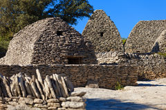 Bories wioska w Gordes, Luberon Provence, Francja Zdjęcia Royalty Free