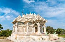 Borij Derasar,一个耆那教的寺庙在甘地讷格尔-古杰雷特,印度 免版税图库摄影