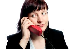 Boring call Royalty Free Stock Photos
