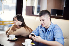 Boring date Royalty Free Stock Photography