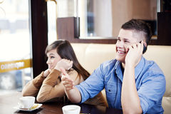 Boring date Stock Photography