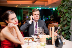 Boring date Stock Images