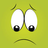 Boring face Stock Images