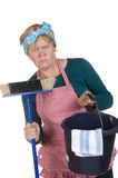 Boring housekeeping Stock Images