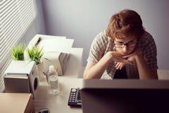 Boring job Stock Images