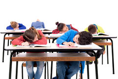 Boring lessons Stock Images