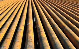 Boring pipes Stock Photo