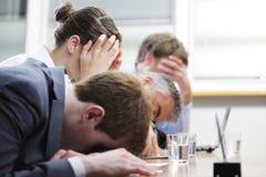 Boring seminar Stock Images