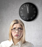 Boring work royalty free stock images