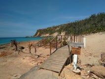Borinquen海滩Aquadillia波多黎各 免版税库存图片