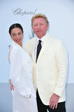 Boris Becker & Lilly Becker Stock Image
