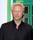 Boris Becker at Madame Tussaud's stock photos