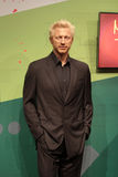 Boris Becker. Wax statue at Madame Tussauds in London stock photos