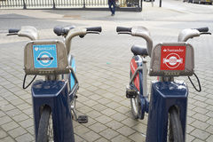 Boris bike Stock Image