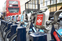 Boris bike Royalty Free Stock Images