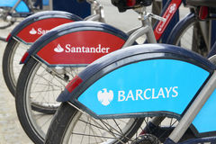 Boris bike Royalty Free Stock Image