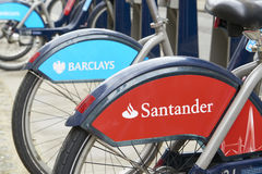 Boris bike stock images