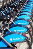 Boris Bikes Imagenes de archivo
