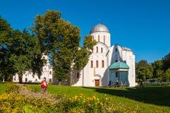 Boris e Gleb Church in Cernigov, Ucraina (XII secolo) fotografia stock libera da diritti