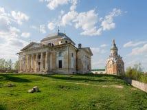 Boris en Glebs-kathedraal in Torzhok stock afbeeldingen