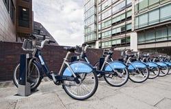 Boris-Fahrräder Lizenzfreies Stockfoto