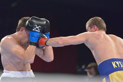 Boris Georgiev vs Viacheslav Kislitsyn Stock Photos