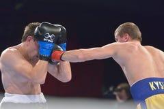 Boris Georgiev vs Viacheslav Kislitsyn Stock Photos