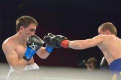 Boris Georgiev vs Viacheslav Kislitsyn Stock Images