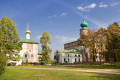 Boris and Gleb Cathedral and church of the Annunciationin in the monastery of Boris and Gleb, Royalty Free Stock Images