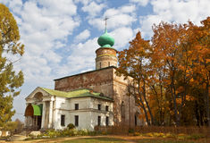 Boris and Gleb Cathedral in the monastery of Boris and Gleb, Royalty Free Stock Photo