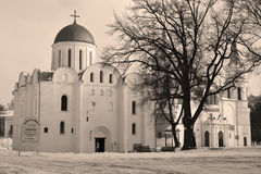 Boris and Gleb cathedral, saint-transfiguration cathedral, Chern Stock Photography