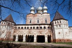Boris and Gleb Monastery Royalty Free Stock Images