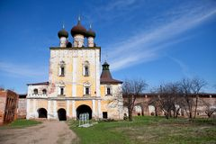 Boris and Gleb Monastery Stock Image