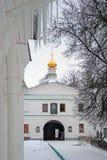 Boris and Gleb monastery in Dmitrov city, Moscow region, Russia Royalty Free Stock Photos