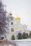 Boris and Gleb monastery in Dmitrov city, Moscow region, Russia Royalty Free Stock Photography