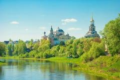 Boris and Gleb Monastery in Torzhok Royalty Free Stock Photography