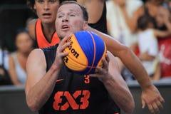 Boris Jersin - basquetebol 3x3 Foto de Stock