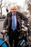 Boris Johnson - alcalde de Londres imágenes de archivo libres de regalías