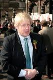 Boris Johnson, alcalde de Londres Foto de archivo libre de regalías