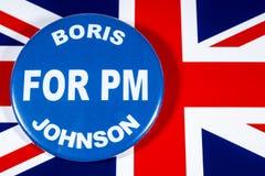 Boris Johnson för premiärminister arkivbilder