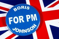 Boris Johnson för premiärminister arkivfoton